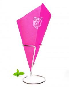 Puntzak friet roze