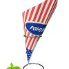 Puntzakje voor het serveren van popcorn