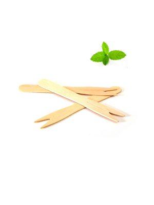 Frietvorkjes hout 8,5 cm, snackvorkjes